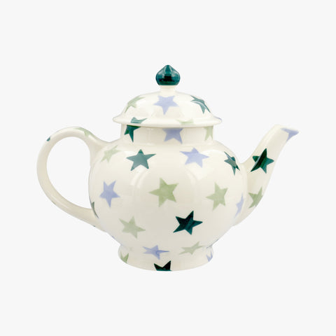 Personalised Winter Star 4 Mug Teapot