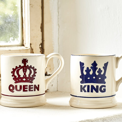 The Queen 1/2 Pint Mug