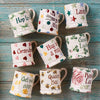 Personalised Polka Star 1/2 Pint Mug