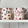 Personalised Pink Crafting 1/2 Pint Mug