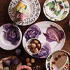 Vegetable Garden Red Cabbage Medium Oval Platter