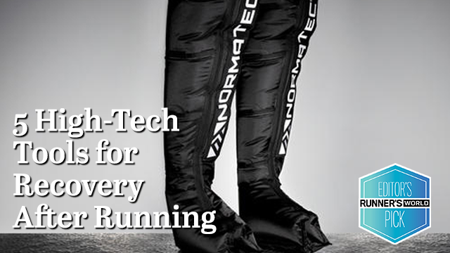 NormaTec named as Runner's World Editor's Pick in best after-running technology to help runners recover.