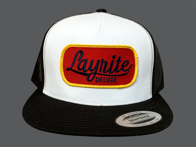 Layrite Brew Trucker Hat White/Black
