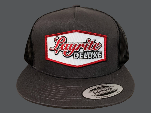 Layrite Filtered Trucker Hat Charcoal/Black