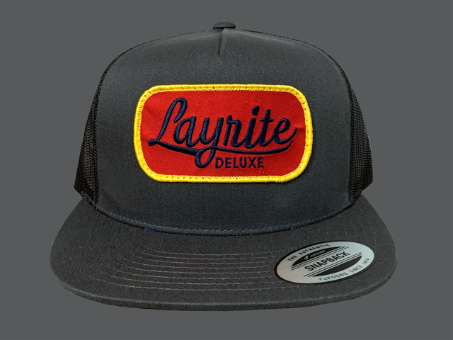 Layrite Brew Trucker Hat Charcoal
