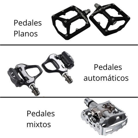 tipo pedales ciclismo tuttobike