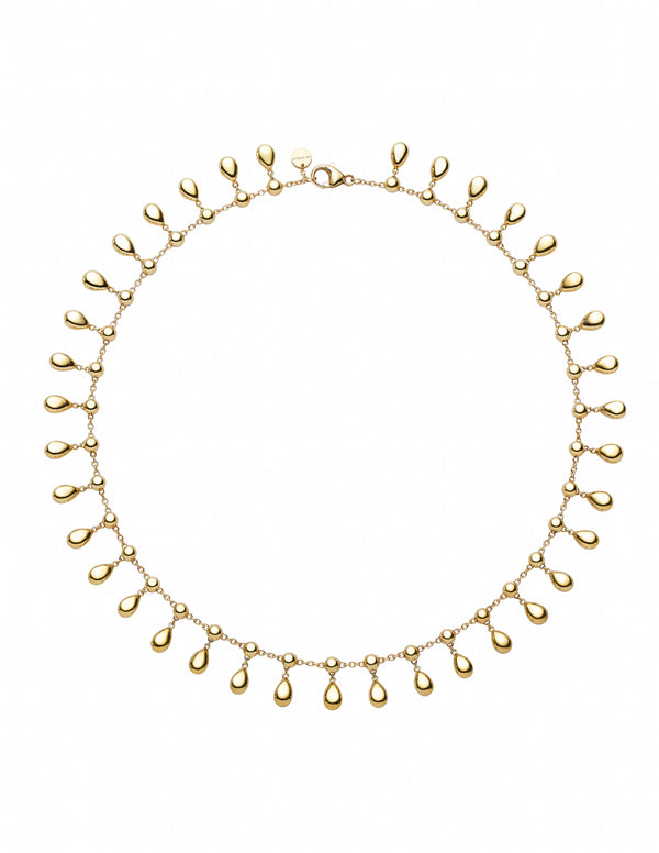 Drop Gold Small Necklace
