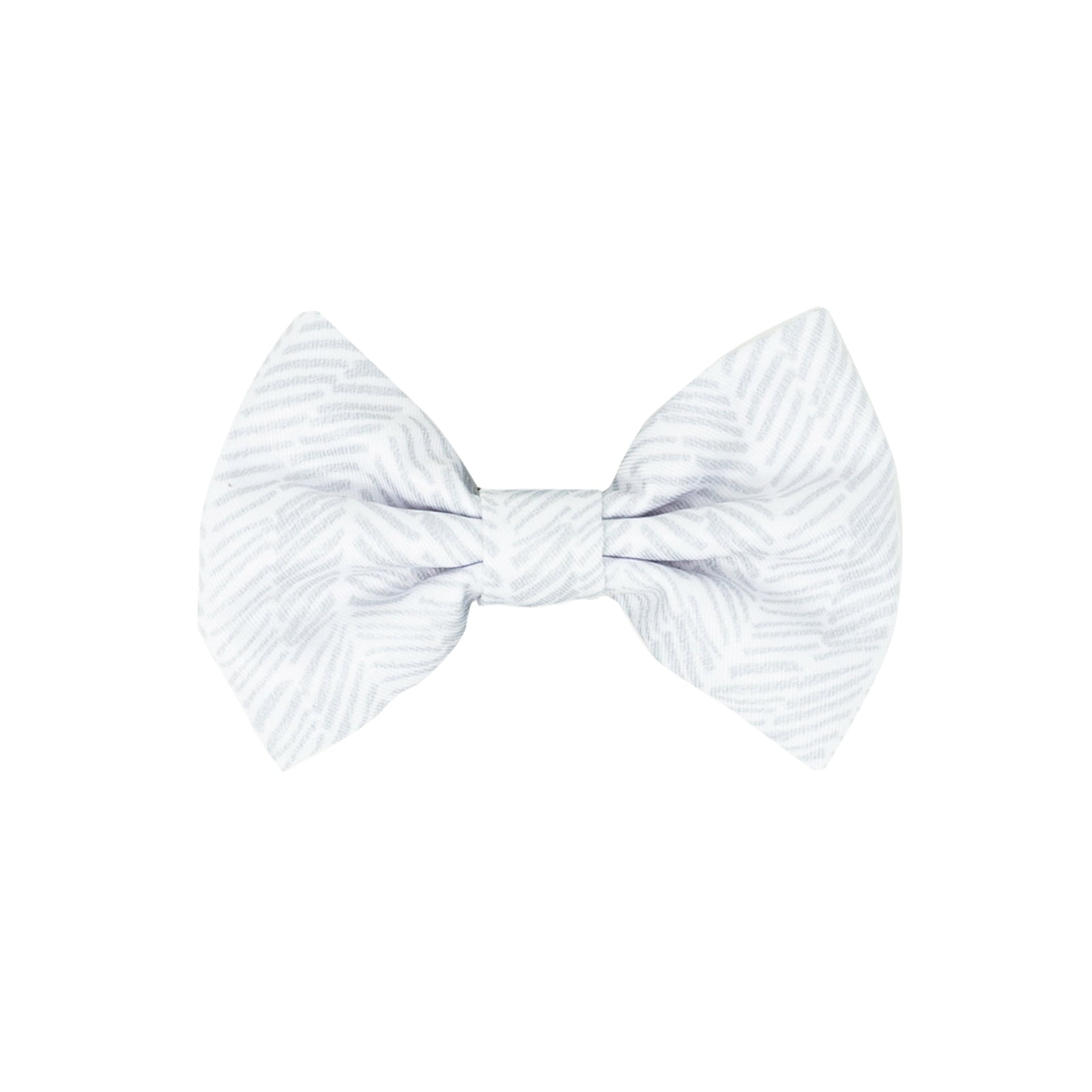 Dog Bow Tie - Silver Lining (Final Sale)