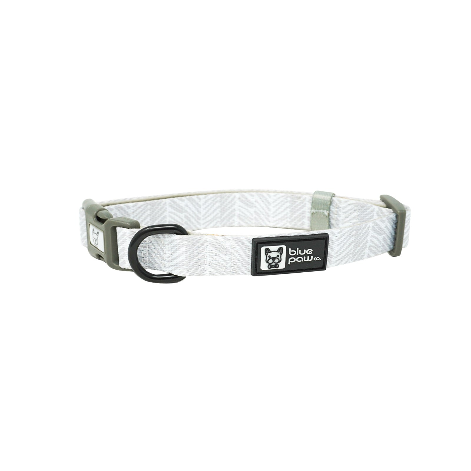 Dog Collar - Silver Lining (Final Sale)