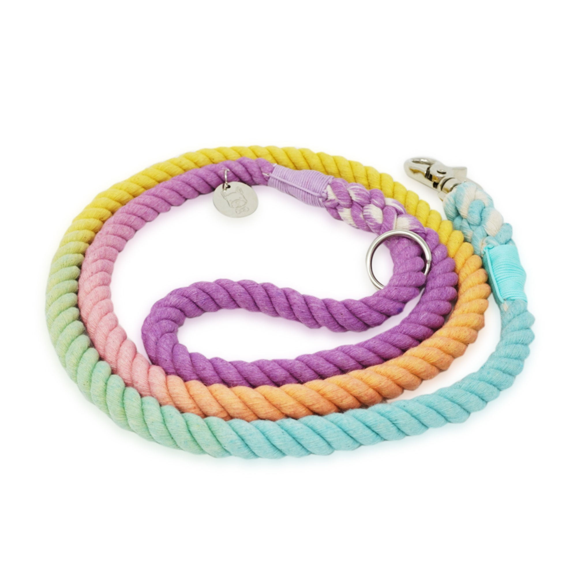 Cotton Rope Leash - Sprinkles