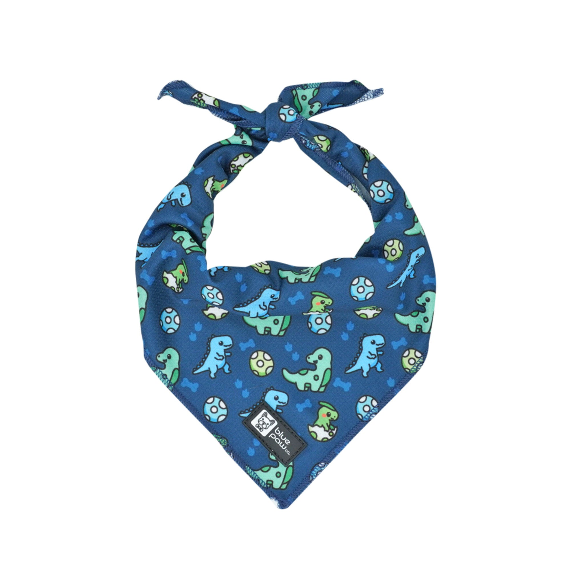 Cooling Dog Bandana - Dino