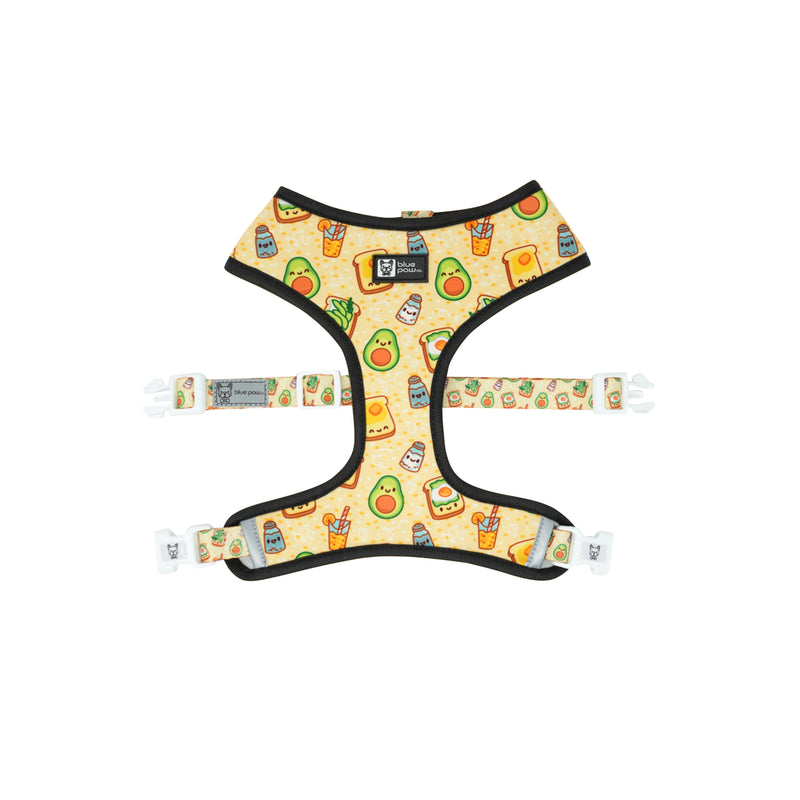 Reversible Dog Harness - Avocado Toast