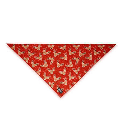 Cooling Dog Bandana - Jolly Reindeer