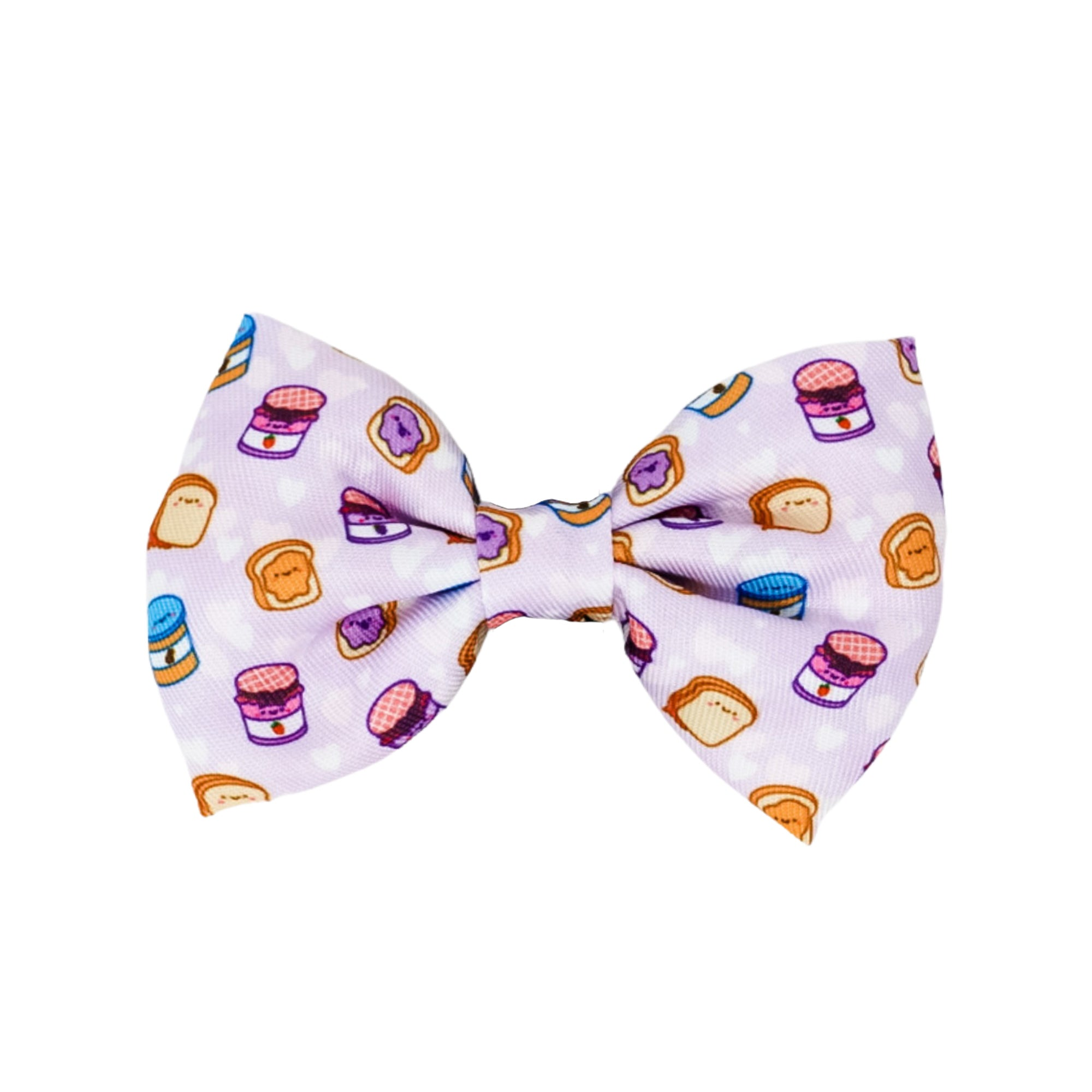 Dog Bow Tie - Peanut Butter Jelly