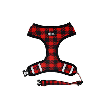 Adjustable Dog Harness - Ruffalo Plaid - Blue Paw Co.