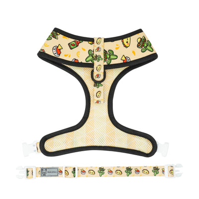 Reversible Dog Harness - Taco Fiesta