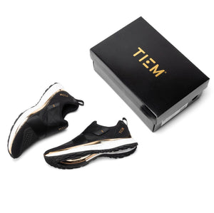 TIEM Cycling Shoe - Black & Gold | LIMITED EDITION