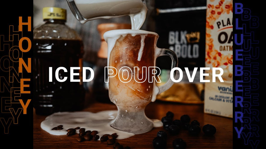 BLK & Bold Blueberry Iced Pour Over