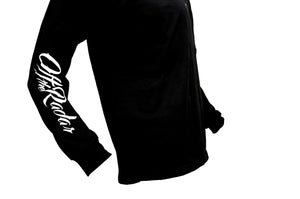 SCRIPT SLEEVE LONG T-SHIRT