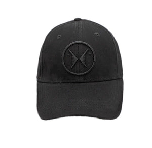 STATE OF MIND LOGO CAP (All Black)