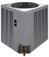 WEATHER KING BY RHEEM® 3 TON 14 SEER A/C SPLIT SYSTEM (AC, GAS FURN , COIL)
