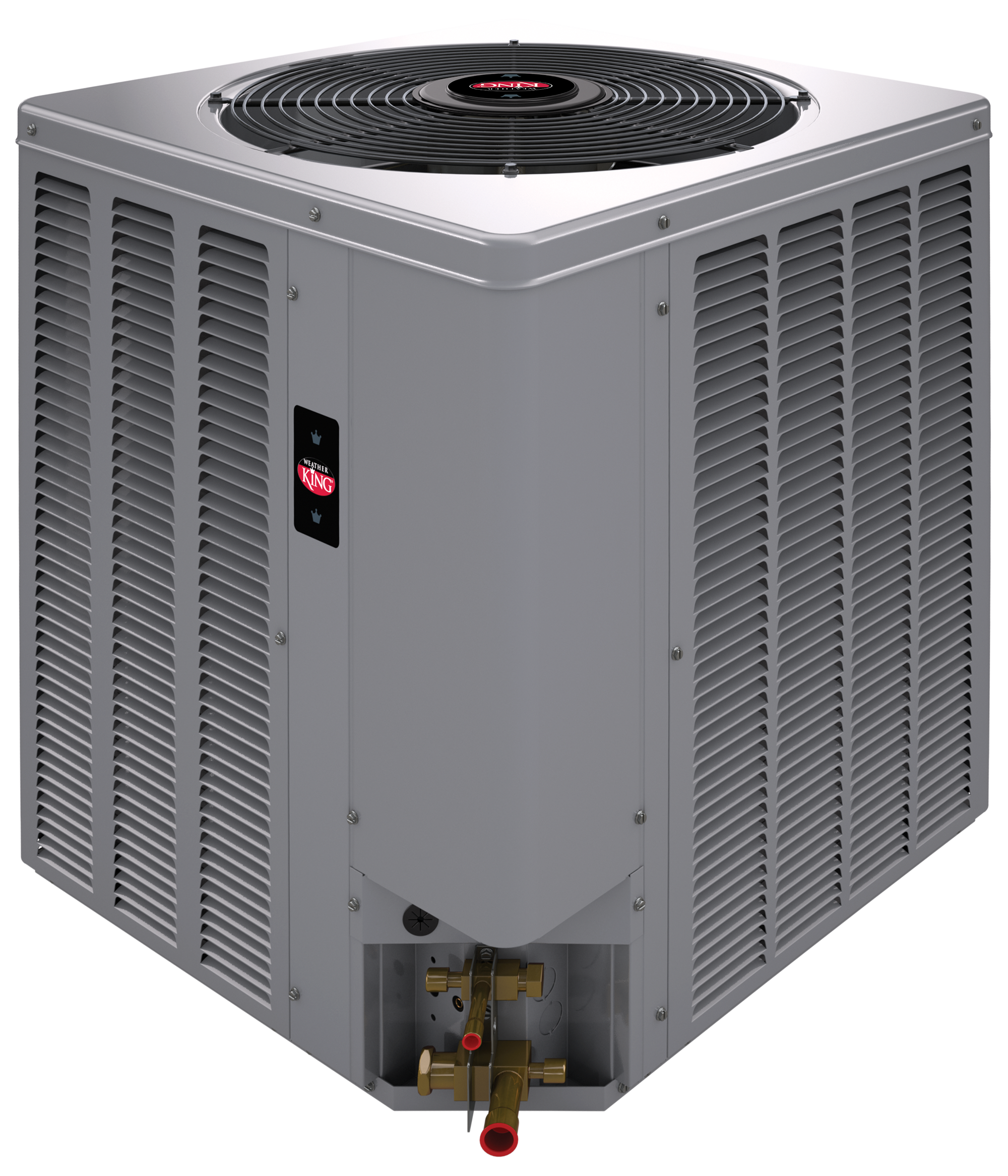 WEATHER KING BY RHEEM® 2 TON 14 SEER A/C SPLIT SYSTEM (AC, GAS FURN , COIL)