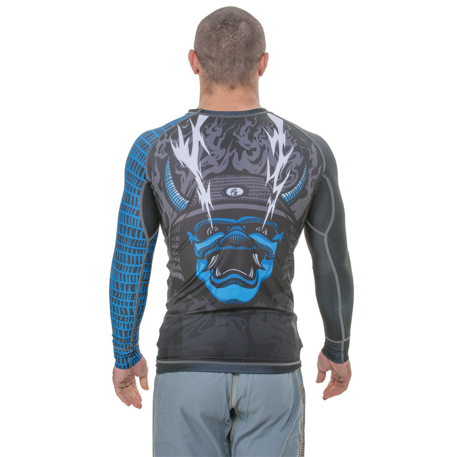 Graphic Rash Guard - Long Sleeve