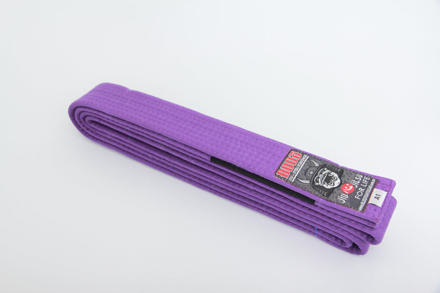 Purple BJJ Belt