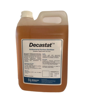 Decastat™ Surface Sanitiser - 5ltr