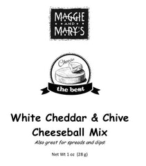 White Cheddar & Chive Cheeseball Mix