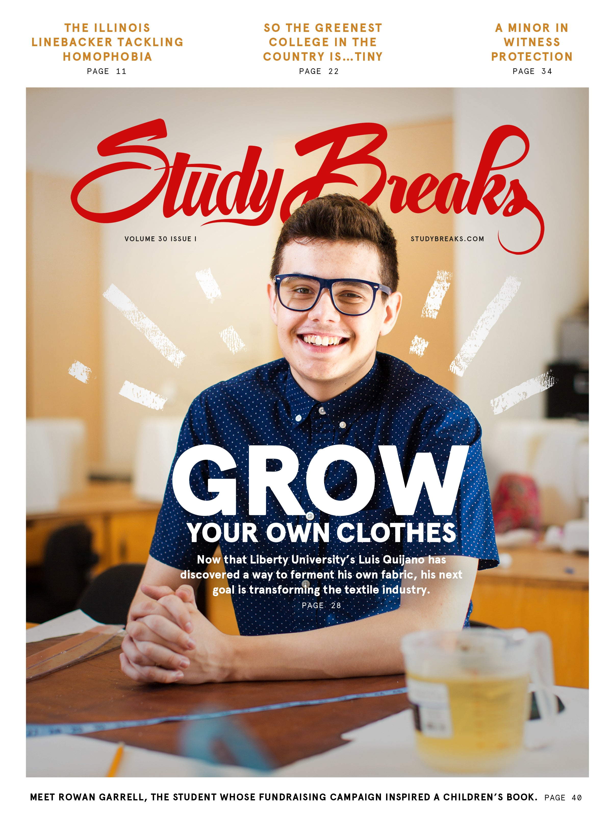 Study Breaks Volume 30 Issue 1