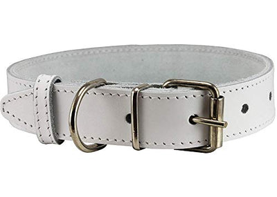 High Quality Genuine Leather Dog Collar 7 Colors (21