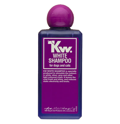 KW WHITE SHAMPOO for Dogs and Cats 6.5oz(200 ML)/ 2lbs 2oz(1000 ML)
