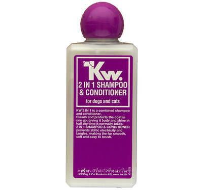 KW 2 in 1 SHAMPOO + BALSAM 6.5oz(200 ML)/ 2lbs 2oz(1000 ML)