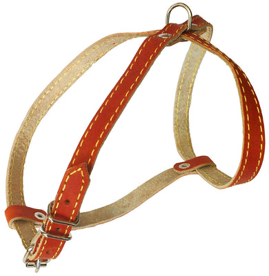 Real Leather Dog Harness, 12