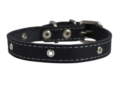 Real Leather Studded Dog Collar 15