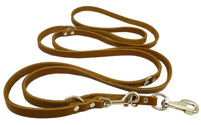 Dogs My Love Multifunctional Leash for Large Breeds, Brown, 60