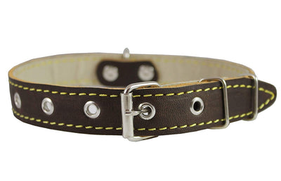 Real Leather Dog Collar 11