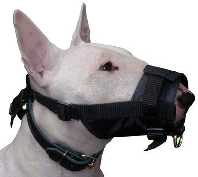 Adjustable Nylon Dog Muzzle No Bite 10