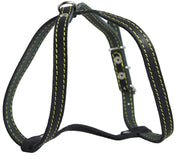 "Genuine Leather Dog Harness, 12""-16"" Chest size, 1/2"" Wide, Maltese, Chihuahua, Puppies"