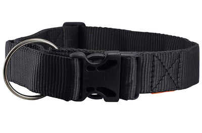 Heavy Duty Adjustable Nylon Dog Collar 1.5