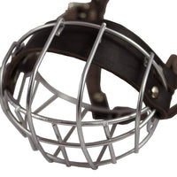 "Metal Wire Basket Dog Muzzle Pug, French Bulldog. Circumference 11"", Length 2.25"""