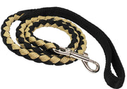 "Dogs My Love 3/4"" Wide Braided Rope Leash 4ft Long"