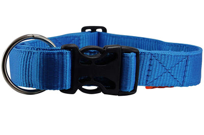 Heavy Duty Adjustable Nylon Dog Collar 1.25