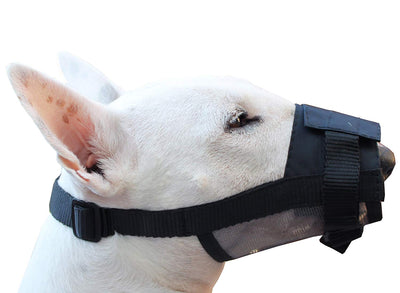 Adjustable Nylon Dog Grooming Muzzle