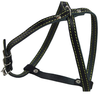 Real Leather Dog Harness, 15