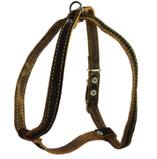 "Real Leather Dog Harness, 15""-19"" Chest size, 1/2"" Wide, Poodle"