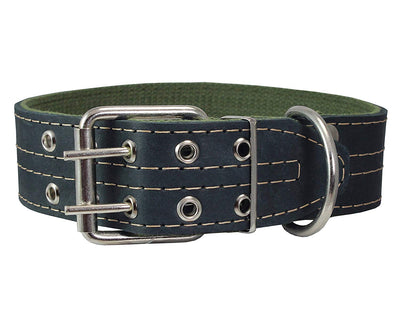 Genuine Leather Dog Collar 1.75