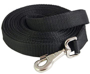 "Dog Leash 1.2"" Extra Wide Nylon 10 Feet Long Line for Training"