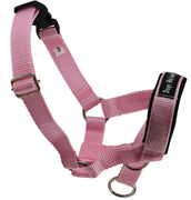 Dog Head Collar Halter Pink 5 Sizes